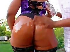 Flame Oiled Up MILF Booty