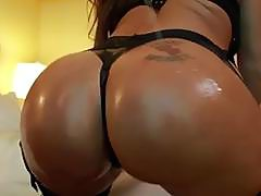 Pornstar Richelle Ryan gets oiled up and fucked hard - Tonight's Girlfriend