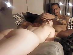 19 year old redhead rides her daddys creampie cam#3